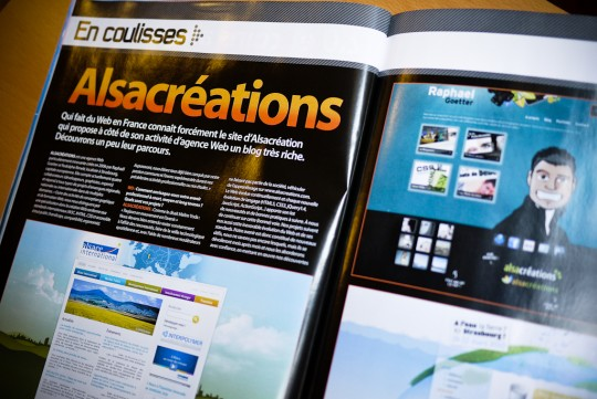Webdesignmag Alsacreations