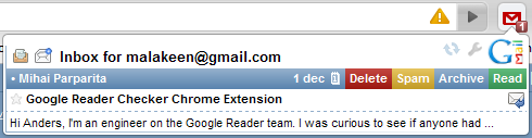Chrome Extension Gmail Checker Plus