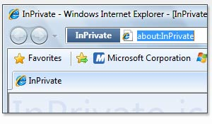 IE8 InPrivate Browsing