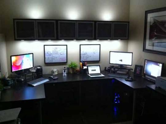 Un espace de travail élégant