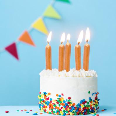 Un bien joli gâteau d'anniversaire