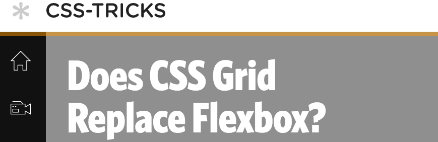 does css grid replace flexbox