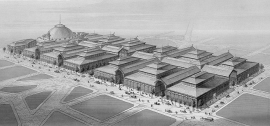 Design des Halles de Paris, 1863, par Victor Baltard [Source: Wikipedia]