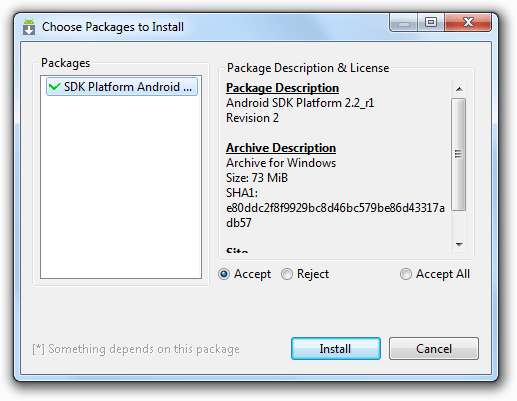 Android SDK Setup