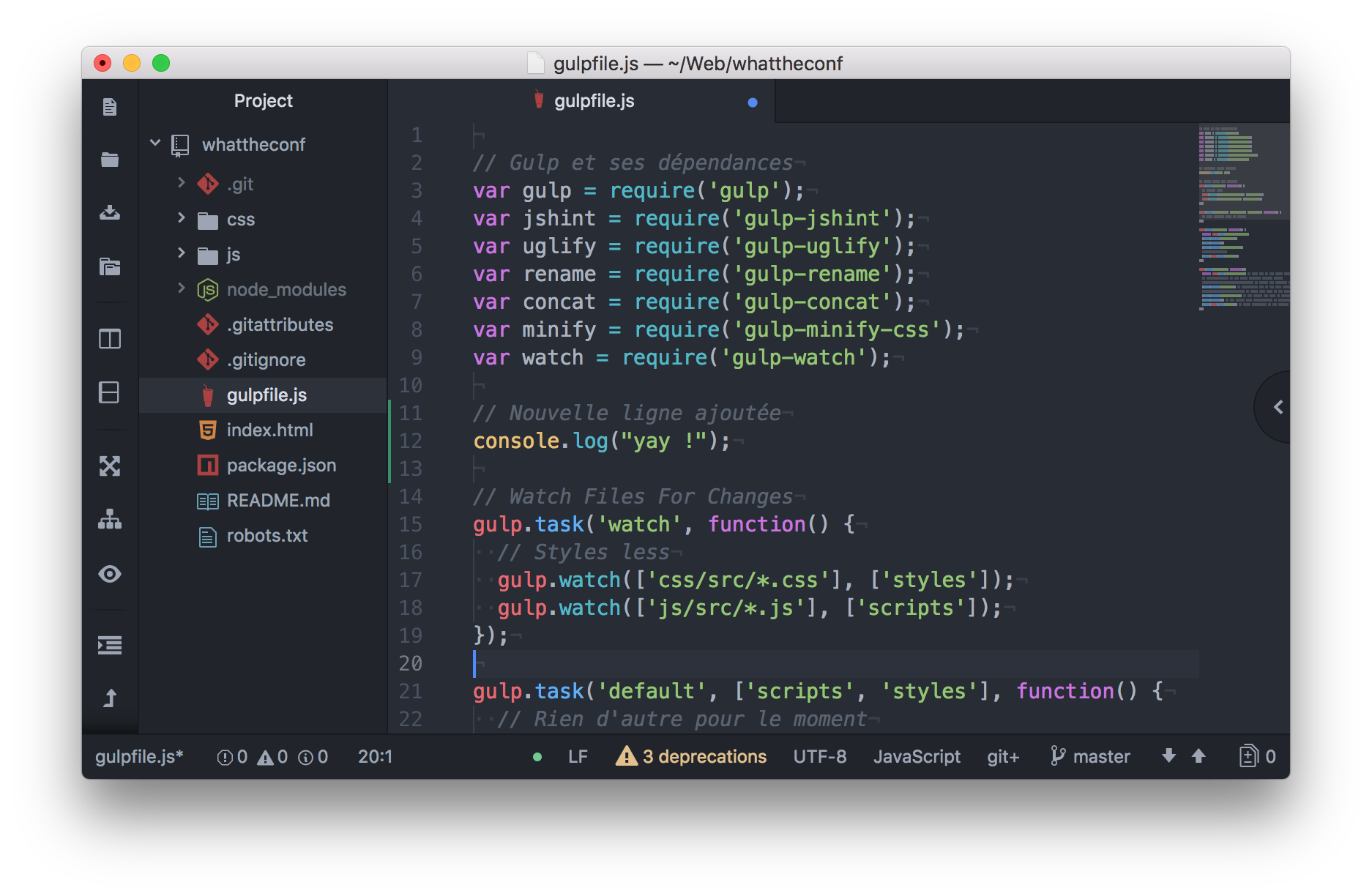 Atom screenshot code