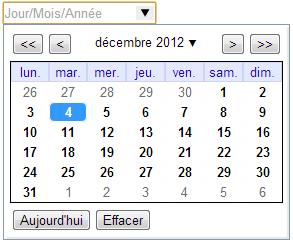Formulaires HTML5 : Champ de types date, time et datetime