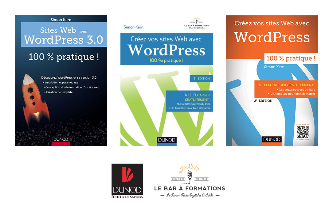 Le Bar à Formations : livre WordPress